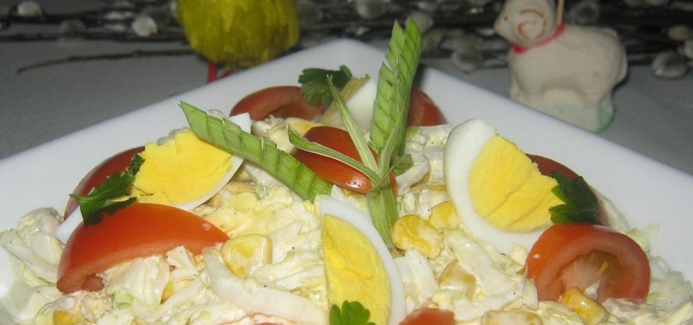 Szybka sałatka z jajkiem (autor: katarzynka455)