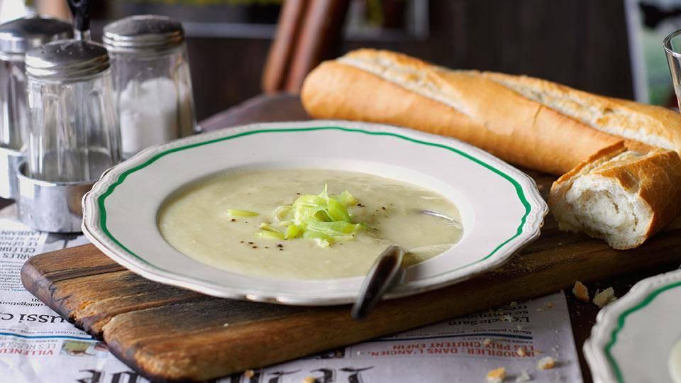 Zupa z ziemniaków i porów