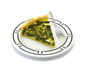 Tarta ze szpinakiem i gorgonzolą