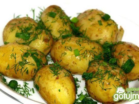 Przepis  młode ziemniaki z koperkiem przepis