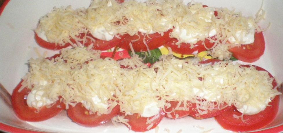 Przystawka z pomidora i czosnku (autor: ilonaalbertos ...
