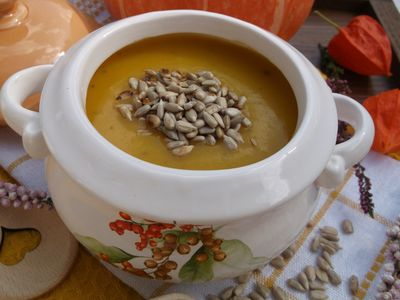 Zupa-krem dyniowo
