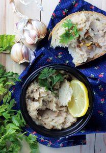 Pasta z białej fasoli – idealna do grzanek – dietetyczna ...