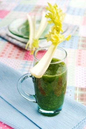 Koktajl z zielonych warzyw  prosty przepis i składniki