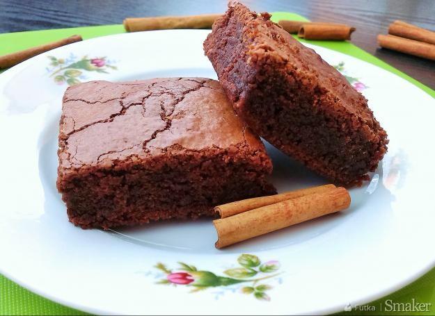 Cynamonowe brownie