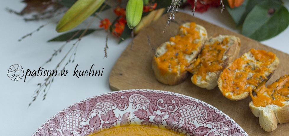 Zupa krem z pieczonej papryki i marchewki. (autor: patisonwkuchni ...