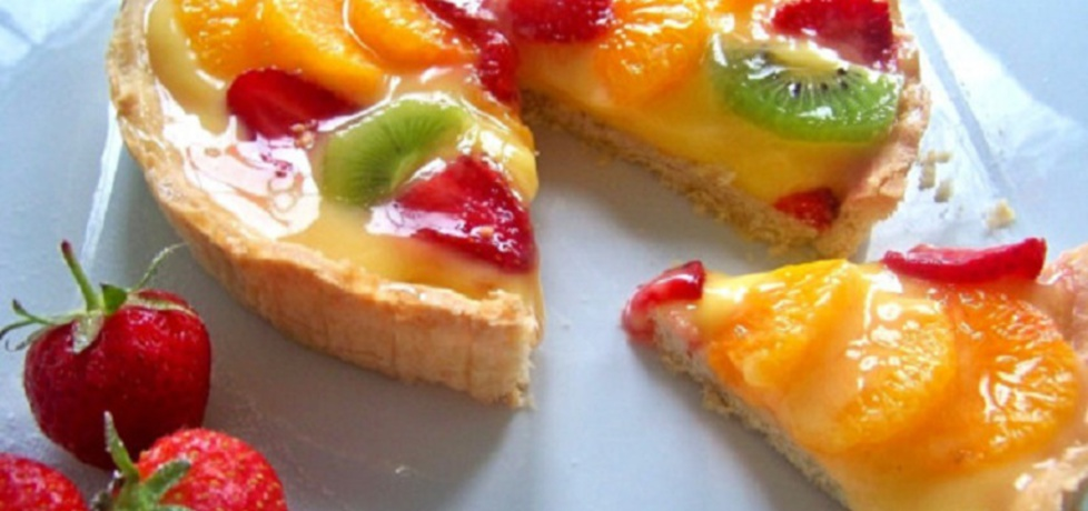 Letnia tarta z owocami (autor: leonowie)