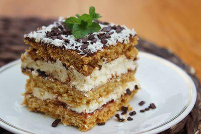 Ciasto czeskie z powidłami