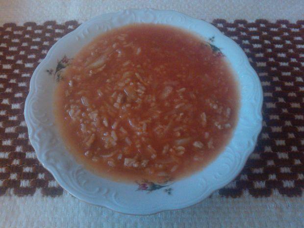 Przepis  domowa zupa gołąbkowa przepis