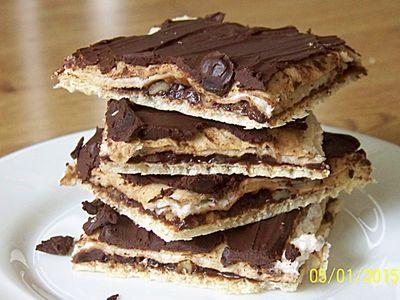 Wafelki czekoladowo