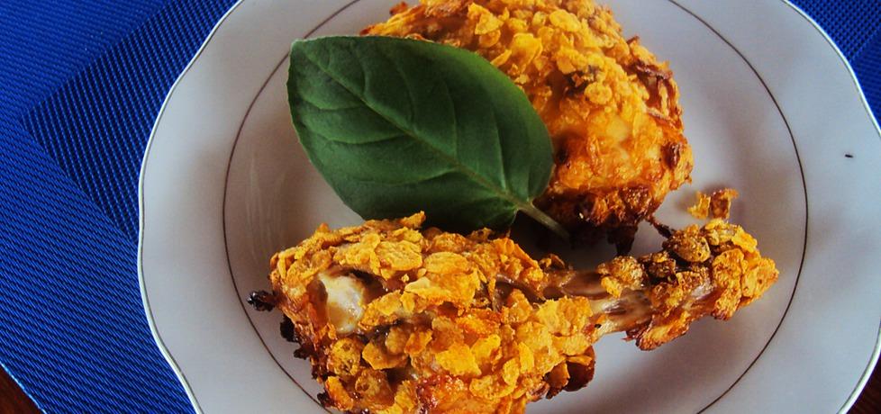 Pieczony kurczak w płatkach kukurydzianych (autor: niki22 ...