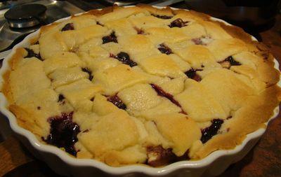 Blueberry pie, czyli amerykański placek z borówkami ...