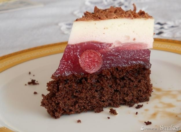 Ciasto wiśniowo  jogurtowe