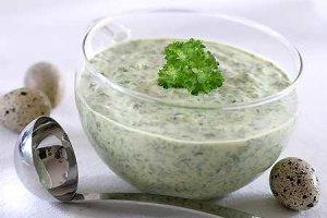 Sos zielony frankfurcki  prosty przepis i składniki