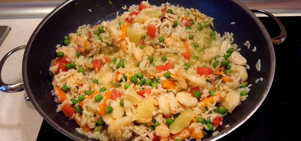 Włoskie risotto z owocami morza (autor: bertpvd)