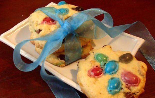 Przepis  ucierane ciasteczka z orzechami przepis