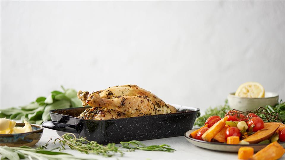Przepis na kurczaka w ziołach