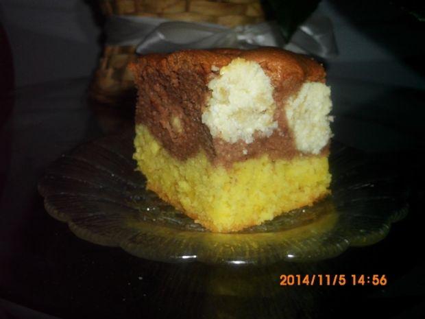 Przepis  ciasto z serowymi oczkami przepis