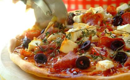 Słodka i pikantna pizza