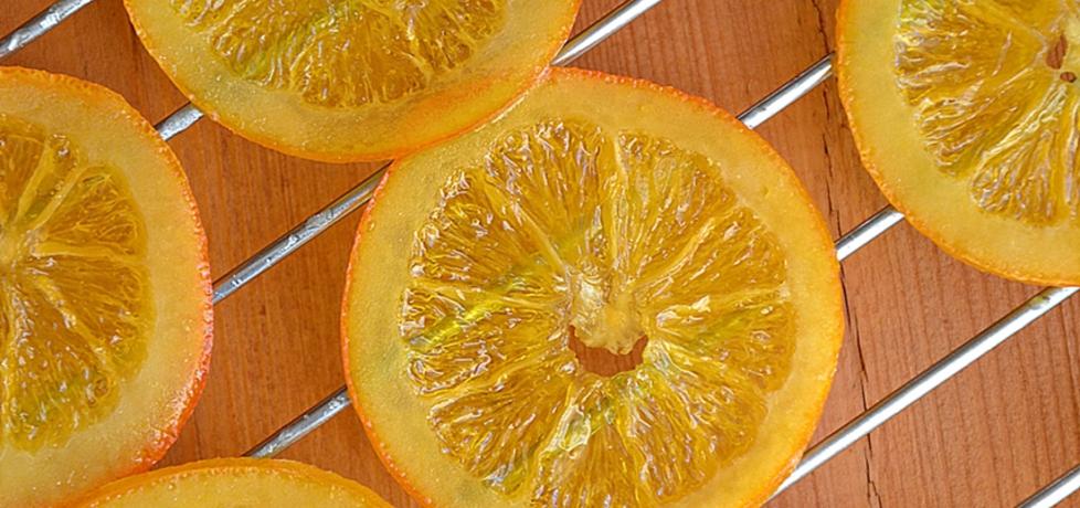 Kandyzowane plastry pomarańczy (autor: dorota