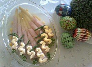 Szparagi w szynce  prosty przepis i składniki