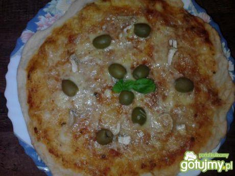 Przepis  pizza quattro formaggi przepis