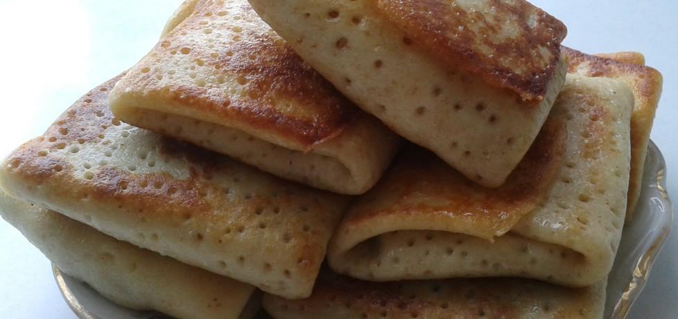Naleśniki i krokiety z farszem mięsno