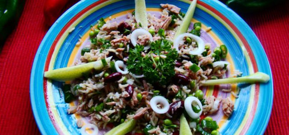 Sałatka ryżowo tuńczykowa (autor: iwa643)