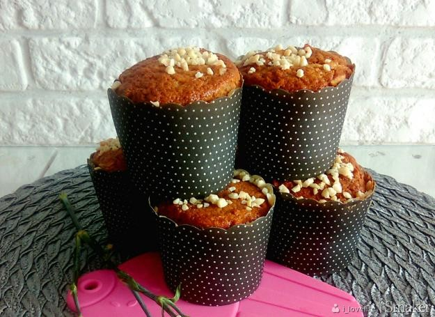 Muffiny jabłkowo – cynamonowe