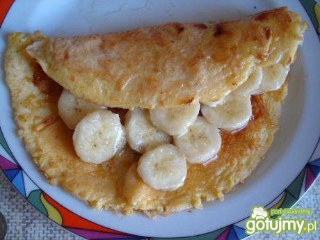 Przepis na omlet z bananem
