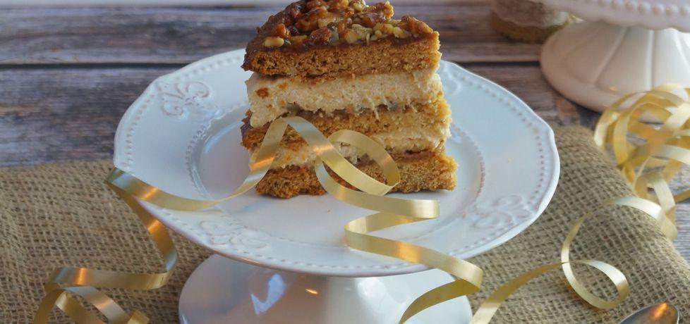 Ciasto miodowe z orzechami (autor: kulinarne-przgody
