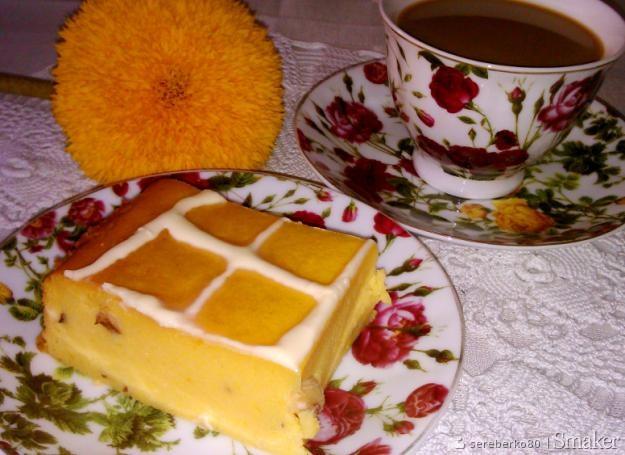Ciasto dyniowo  pomarańczowe