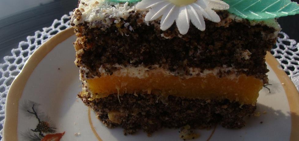 Ciasto makowe z masą pomarańczową (autor: agnieszka214 ...