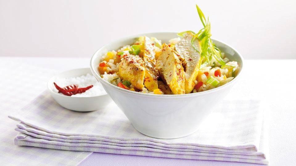 Pieczony Kurczak W Curry Z Ryzem Z Papryka Przepis Kuchnia Lidla