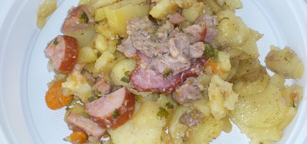 Ziemniaki z ogniska pieczone z karkówką (autor: wafelek2601 ...