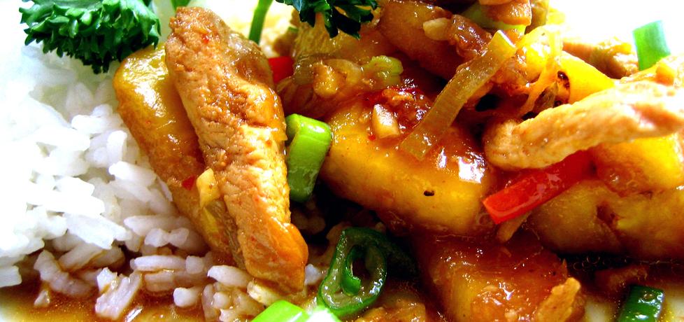 Kurczak ostro słodki (autor: brioszka)