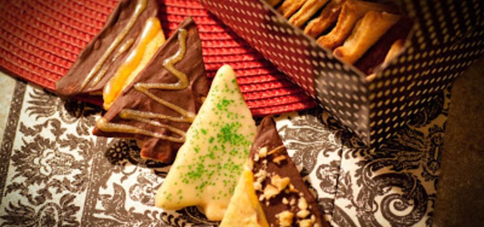 Ciasteczka maślane w czekoladzie z pomarańczową nutą (autor: ula ...