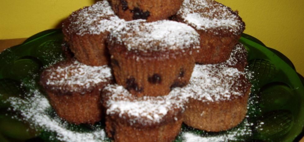 Czekoladowe muffinki z mascarpone i żurawiną (autor: leonkot ...