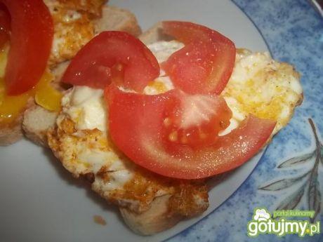 Przepis  tosty z jajkiem 4 przepis