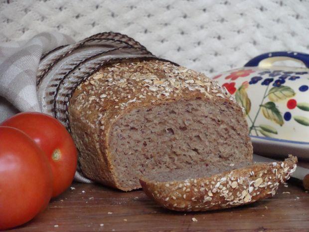 Przepis  chleb razowy z ziarnami przepis