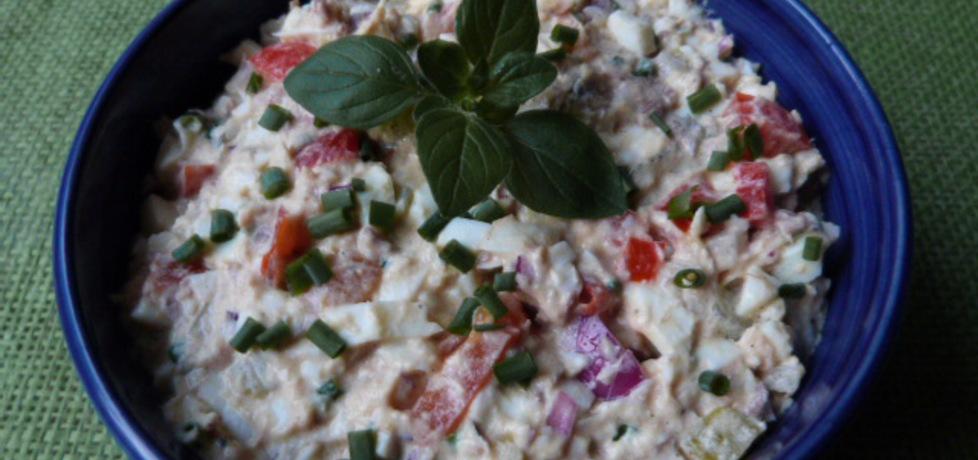 Sałatka z filetów z makreli w oleju (autor: renatazet ...