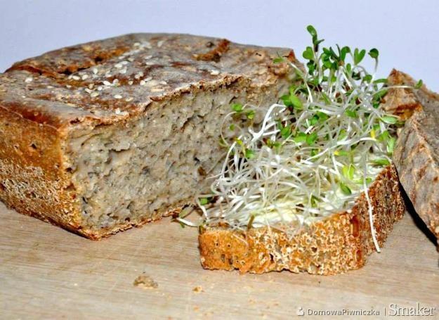 Sezamowy chleb z amarantusem