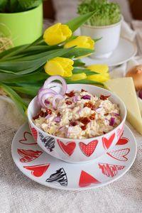 Pasta jajeczna z suszonymi pomidorami i owczym serem ...