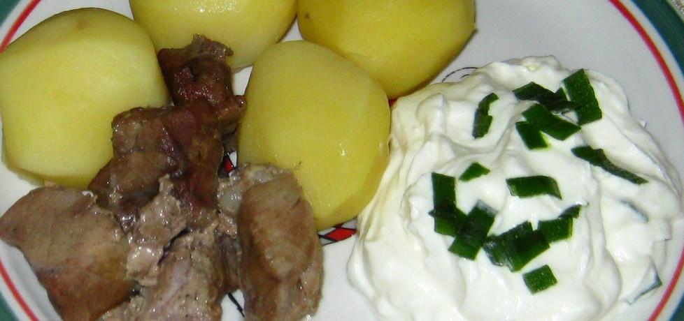 Ziemniaki z gzikiem (autor: katarzynka455)