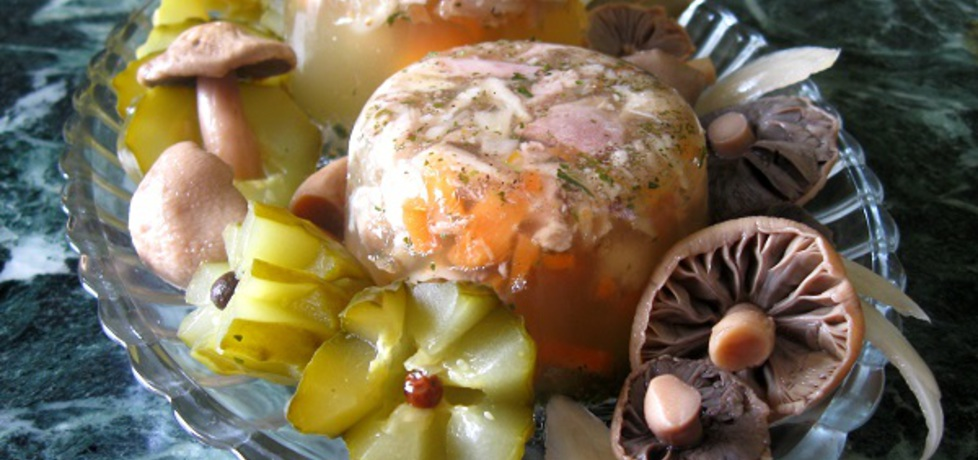 Galaretka z kurczaka na rosole (autor: rossie)