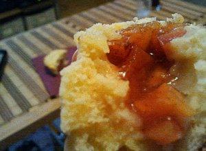 Papaya crunch flans (babeczki z papają)