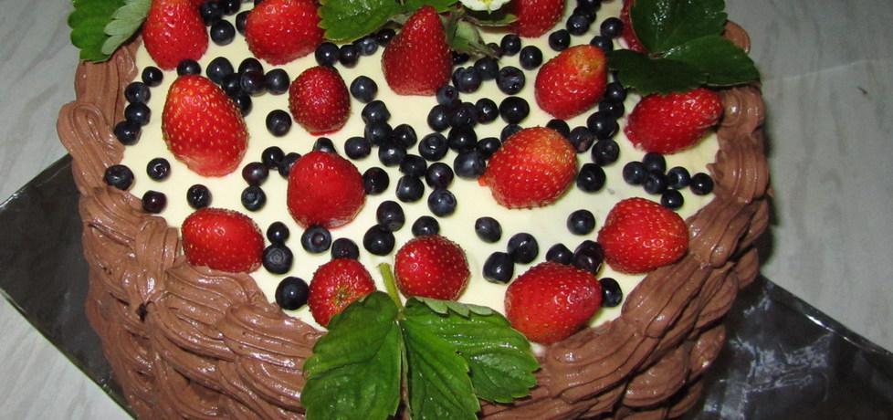 Tort owocowy kosz (autor: mar3sta)