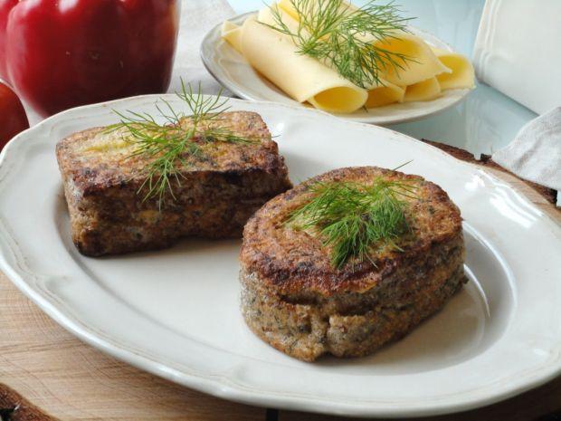 Przepis  serowe tosty francuskie przepis
