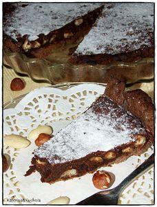 Tarta czekoladowa z mixem orzechów