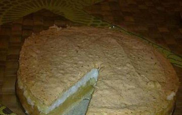 Przepis  szarlotka z pianką kokosowa przepis